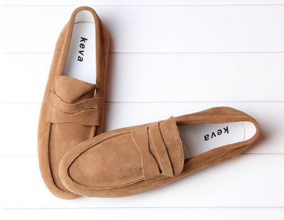 Classic Loafers for Men Soft Suede Shoes without Laces