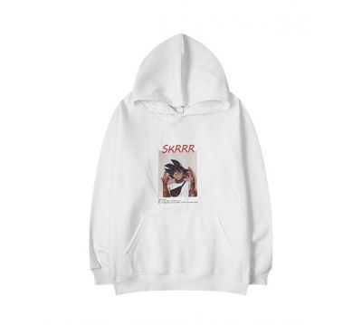 Skrrr Manga Hoodie Sweater for Men or Women with Japanese Cartoon Character