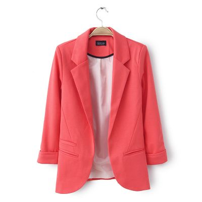Open Blazer for women Casual Suit Jacket with Side Pockets