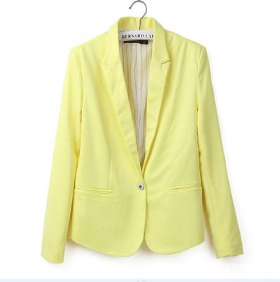 Classic Blazer vest for women with Simple button closure