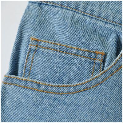 Denim shorts for women high waist retro jeans style