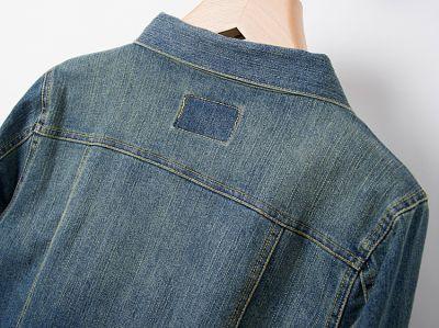 Vintage Denim Jacket for women with Chest Pocket Vintage Fashion