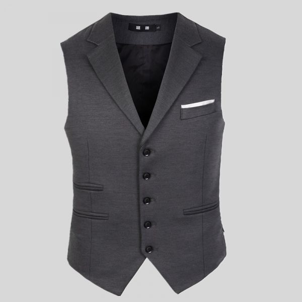 Classic Waistcoat vest for men with Double side pocket