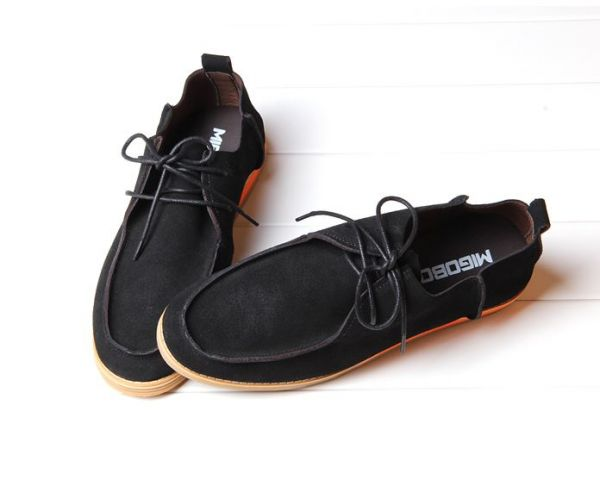Casual summer shoes for Men with thin leather lace