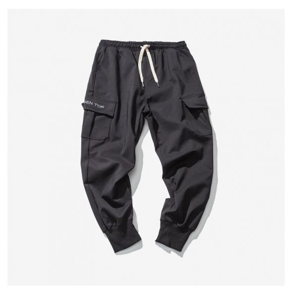 Cargo jogger pants for men with side pockets
