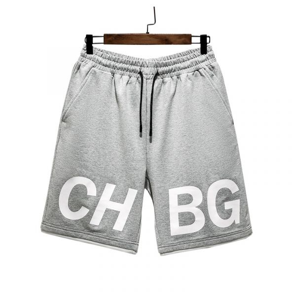 Men's sporty cotton baggy shorts