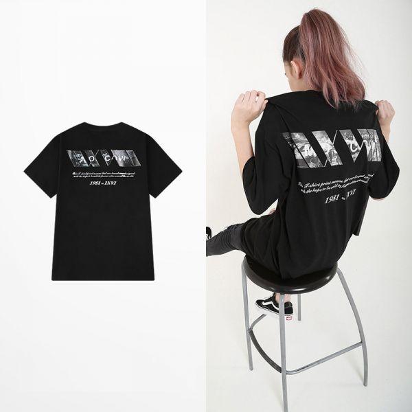 Printed graphic streetwear t-shirt for men or women